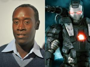 "Don Cheadle as James ""Rhodey"" Rhodes/War Machine"