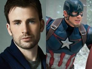 Chris Evans as Steven Rogers/Captain America