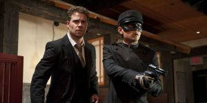 Seth Rogen as The Green Hornet