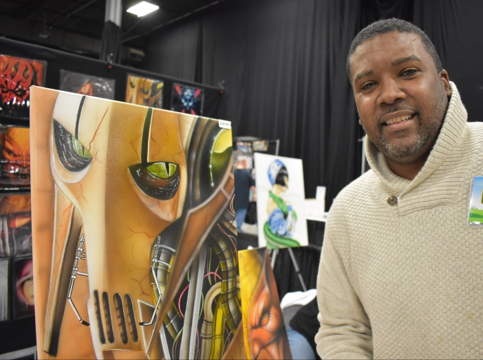 Comic Expo 2017 - Stephen Jones Artist