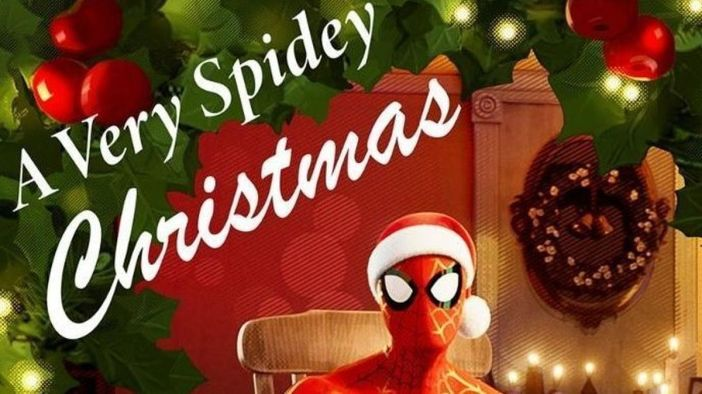 spidey christmas pic 2